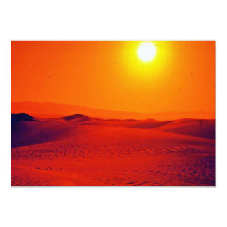 Sunset 5x7 Paper Invitation Card
