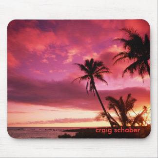 Sunset_Island, craig schaber Mouse Pad