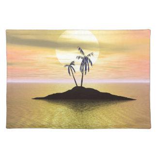 Sunset Island Place Mats