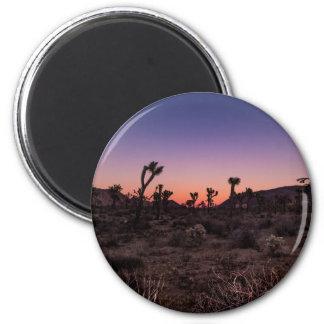 Sunset Joshua Tree National Park Magnet