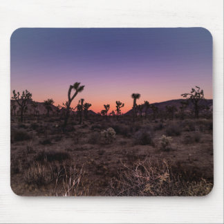 Sunset Joshua Tree National Park Mouse Pad