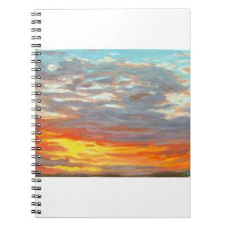 Sunset Journal - notebook