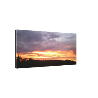 Sunset july 2016 canvas 1 Ranmore, Surrey, UK