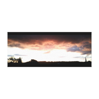Sunset june 2016 canvas 1 Ranmore, Surrey, UK