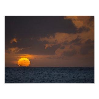 Sunset - Kauai, Hawaii Photo Print
