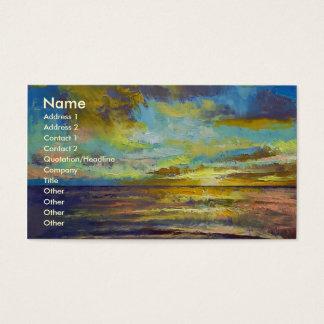 Sunset Key Largo Business Card