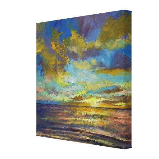 Sunset Key Largo Canvas Print