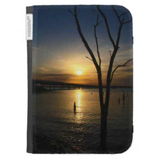 Sunset Kindle 3 Cases