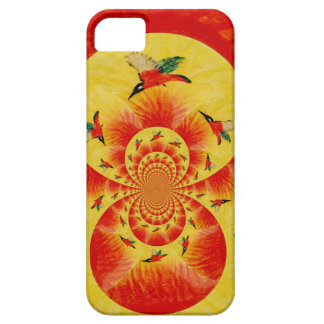 Sunset Kingfisher Bird Art iPhone SE/5/5s Case