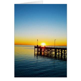 Sunset Kisses, Port Victoria Australia, Card