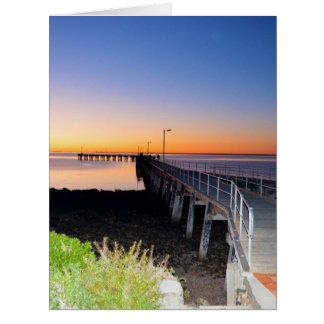 Sunset Kisses, Port Victoria, Australia, Card