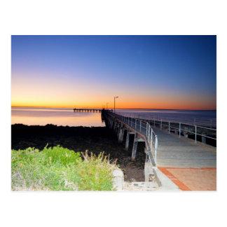 Sunset Kisses, Port Victoria Australia, Postcard