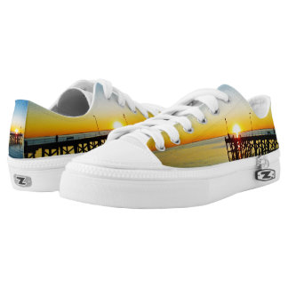 Sunset_Kisses,_Unisex_Lowtop_Zipz_Sneakers Printed Shoes