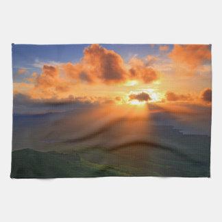 Sunset Towels