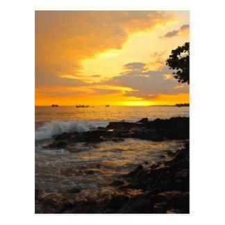 Sunset Kona.JPG Postcard