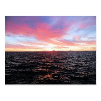 sunset kotzebue 2010 postcard