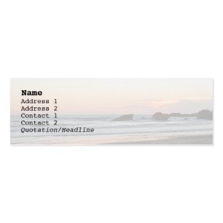 Sunset, la Grande Plage Business Cards