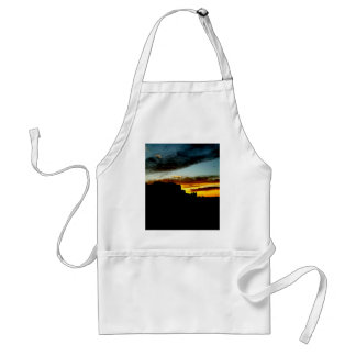 Sunset La Sal Mountains Viewpoint Arches National Adult Apron