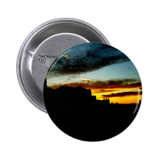 Sunset La Sal Mountains Viewpoint Arches National Button
