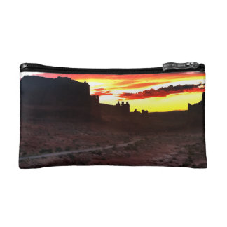 Sunset La Sal Mountains Viewpoint Arches National Cosmetic Bag