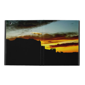 Sunset La Sal Mountains Viewpoint Arches National iPad Cover