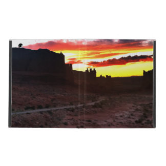 Sunset La Sal Mountains Viewpoint Arches National iPad Folio Case