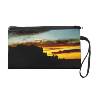 Sunset La Sal Mountains Viewpoint Arches National Wristlet