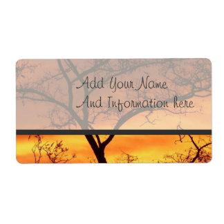 Sunset Label