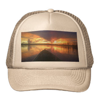 Sunset Lake Trucker Hat