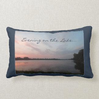 Sunset Lake Lumbar Pillow