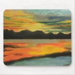Sunset Lake Mousepad