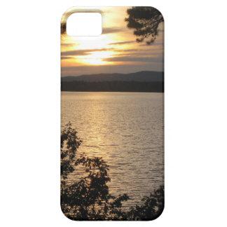 Sunset Lake Scene Iphone Case