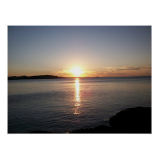 Sunset Lake Superior Marquette Photo Print