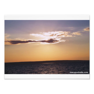 Sunset Lake Superior Photo Print