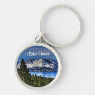 Sunset Lake Tahoe California Emerald Bay Keychain