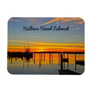 Sozo4all Sunset Landing Skull Creek Boathouse Hilton Head Magnet