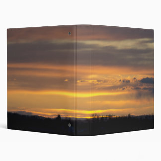 Sunset Landscape Binder