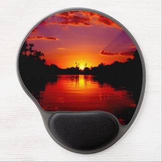 Sunset Landscape Gel Mouse Pad