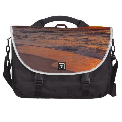 Sunset Laptop Messenger Bag