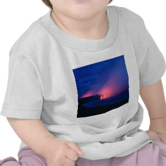 Sunset Lava Flow Ocean Twilight Shirt