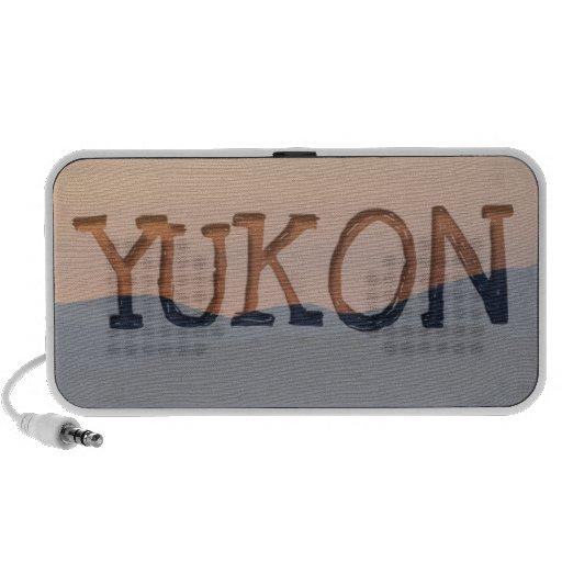 Sunset Layers; Yukon Territory Souvenir Mp3 Speaker