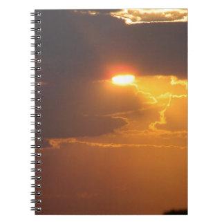 Sunset Libro De Apuntes