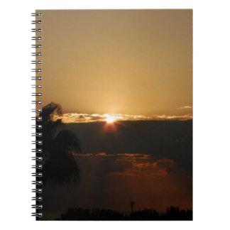 Sunset Libros De Apuntes