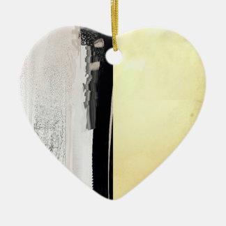 Sunset Line Heart Ornament