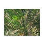 Sunset Lit Palm Fronds Doormat