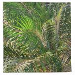 Sunset Lit Palm Fronds Napkins