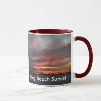 Sunset Long Beach Mug