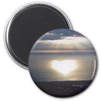 Sunset Love Magnet