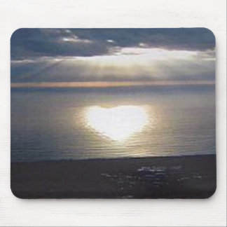 Sunset Love Mouse Pad