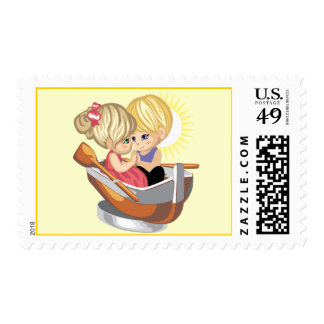 Sunset Love Stamps